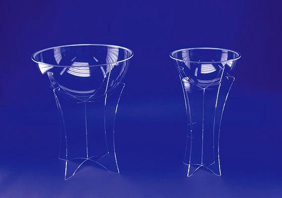 Acrylglas Verkaufstonnen, Verkaufsdisplay.